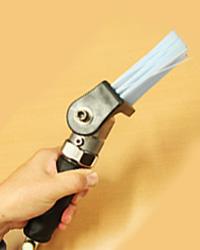 バリ取り工具 ブラシ