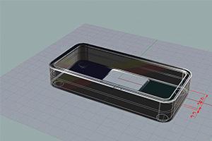 シリコンケース 3Dデータ